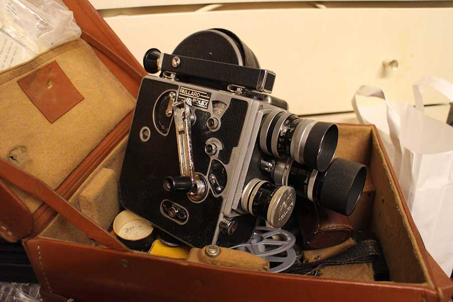 Bolex 16mm film camera