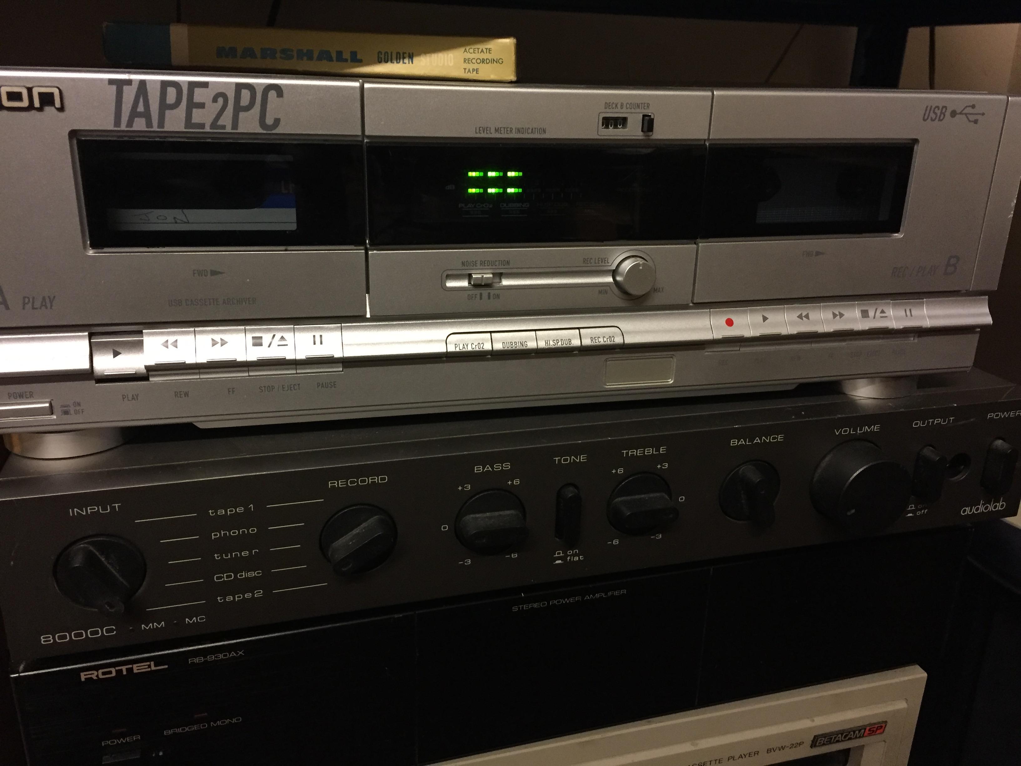 AUDIO CASSETTE TAPE TO CD