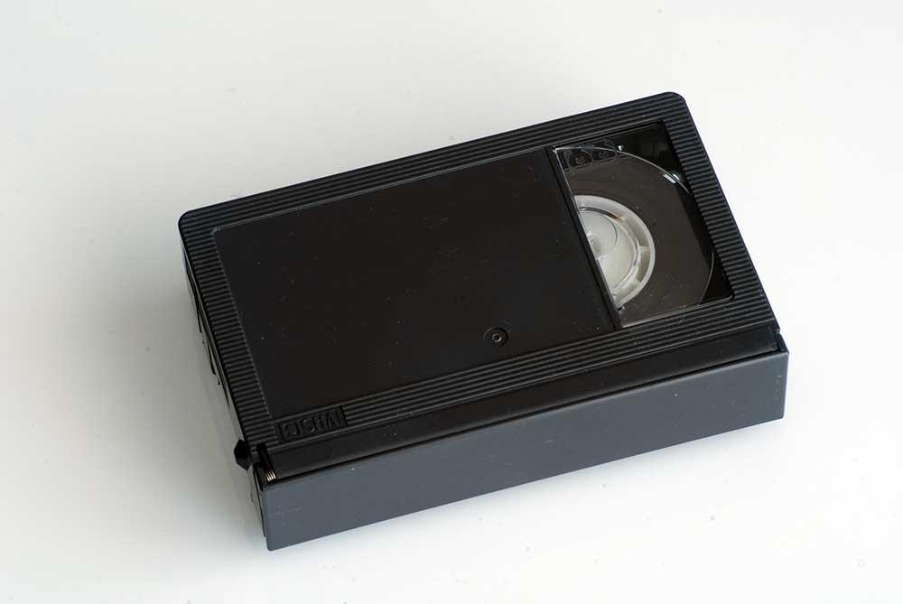 VHS-C VIDEO TAPE